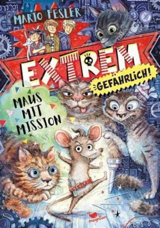 """Jugendliteraturpreis- träger Mario Fesler mit neuen Buch: """"Extrem gefährlich. Maus mit Mission"""""""