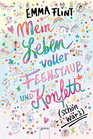 """Heimlicher Bestseller: Emma Flint mit """"Ein Leben voller Feenstaub und Konfetti. Schön wär's"""""""