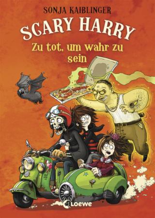 Nicht nur an Halloween! Die Bestsellerserie von Sonja Kaiblinger um Scary Harry geht weiter