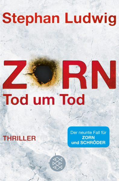 """""""Zorn – Tod um Tod"""" von Stephan Ludwig steigt auf Platz 12 ein"""