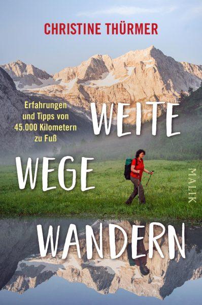 Christine Thürmers neues Buch: Kompaktes Wissen zum Thema 'Fernwandern'