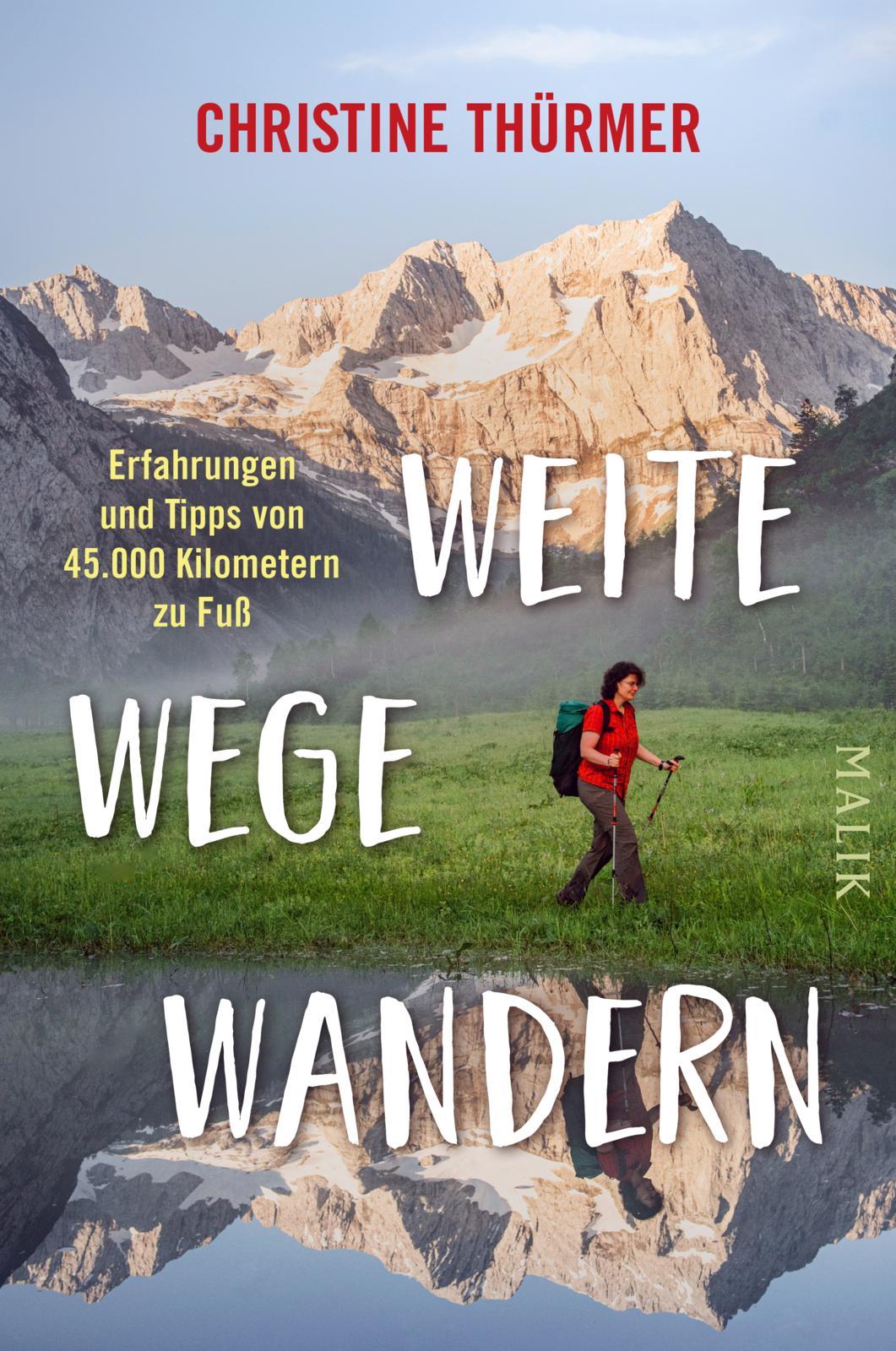 Christine Thürmers Fernwanderbibel: Einstieg auf Platz 8 der Bestsellerliste