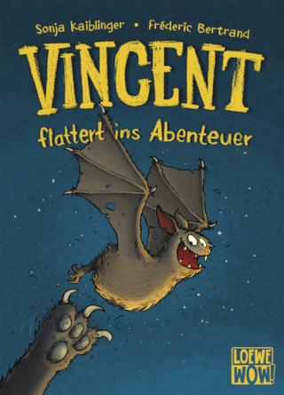"""Bereits international verkauft: Sonja Kaiblingers """"Vincent flattert ins Abenteuer"""""""