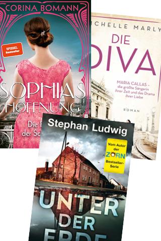 Drei Platzierungen auf der Paperback-Bestsellerliste