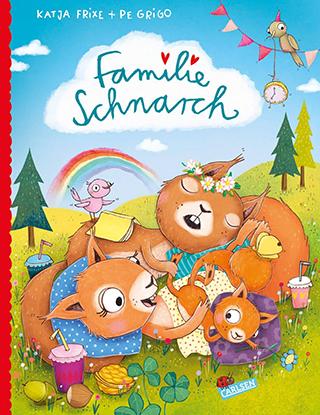 """Mehr Zeit für alle: Katja Frixes neues Bilderbuch stellt """"Familie Schnarch"""" vor"""