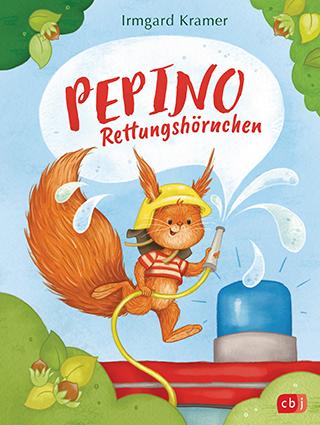 Der lustigste Feuerwehrheld aller Zeiten: Irmgard Kramers  Rettungshörnchen Pepino neu im Einsatz