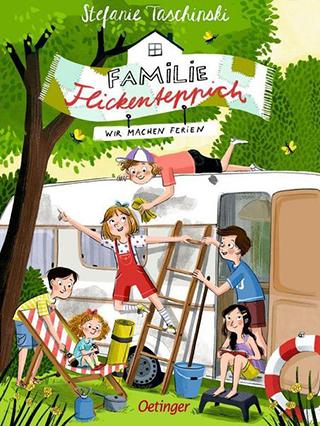 """Bestsellerautorin Stefanie Taschinski mit einem neuen Band von """"Familie Flickenteppich"""""""